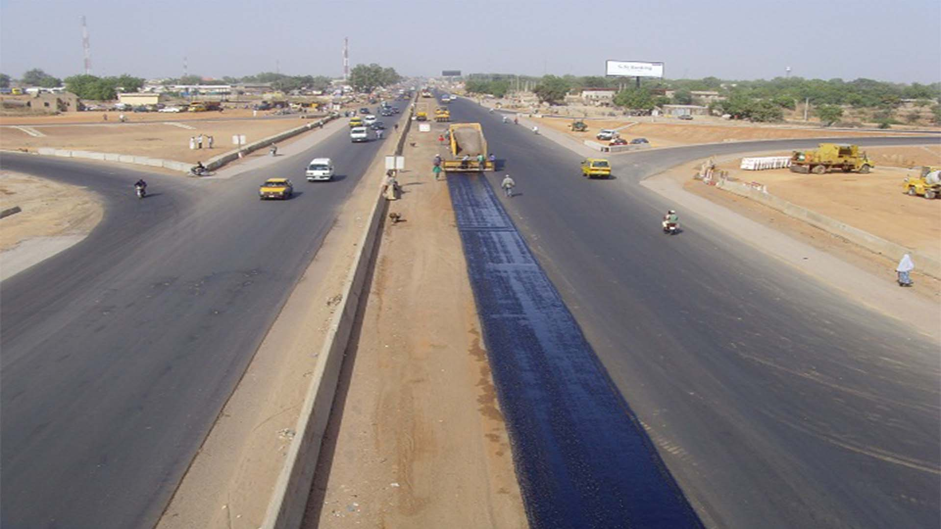 Road Under Constuction Project